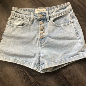 BRAND NEW pacsun mom shorts